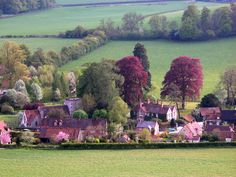 Turville Village, Buckinghamshire, England ✯ ωнιмѕу ѕαη∂у The Places Youll Go, Great Places, Places To See, Beautiful Buildings, Beautiful Places, Vicar Of Dibley, English Village, Places Of Interest, English Countryside