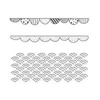 Boutique Borders Photopolymer Stamp Set