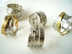 idili: libro-anillos / book-rings