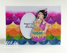 Latinas Arts and Crafts: Reto 65 - A todo Color