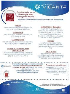 #trabajo #ermpleo Vacantes Cancun