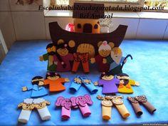 Escolinha Bíblica da Garotada: Primários 2015: Lição 07- A primeira chuva! ( A arca de Noé)