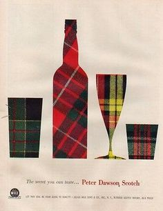a 1956 whiskey ad : Peter Dawson Scotch