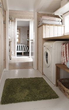 Scandinavian interiors - Laundry room