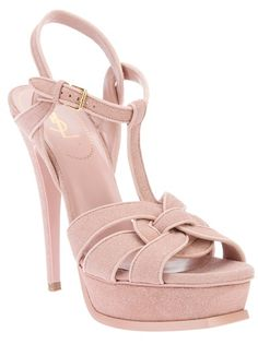 YVES SAINT LAURENT 'Tribute' sandal Classic!