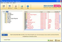 Perfect Pen Drive Data Recovery Software has the avibilty to recover lost or deleted data from external storage devices, such as Pen Drive, USB drives, Smart card, Secure digital card, Compact flash card, SD mini, Smart media, SD micro, MMC multimedia card, Memory stick, etc