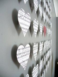 <3 Music Wall Craft