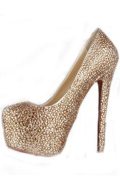 Sapatos de Salto Gostoso Couro Salto agulha