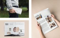 Martin Auer Magazine - moodley brand identity