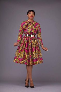 Here at Grass-fields we have an awesome range of African dress designs. Whether you're after an African print maxi or midi dress, we've got something for you. African Fashion Ankara, Latest African Fashion Dresses, Ghanaian Fashion, African Print Fashion, Africa Fashion, Fashion Prints, African Attire, African Wear, African Women