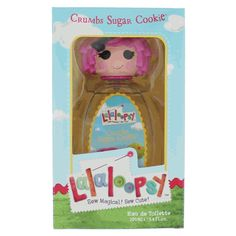 LalaLoopsy Crumbs Sugar Cookie for Girls EDT Spray 3.4 oz only $11.95 Crumbs Sugar Cookie by Lalaloopsy is a Floral Fruity fragrance for women. Top notes are orange, strawberry and carambola (star fruit); middle notes are magnolia, jasmine and freesia; base notes are caramel, vanilla and white wood.   #Under20 #kids #EauDeToilette #women #lalaloopsy #Discountperfume #freeshipping https://goo.gl/DyaODW
