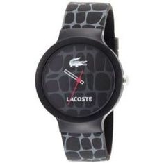 Lacoste Goa Black Pattern Watch