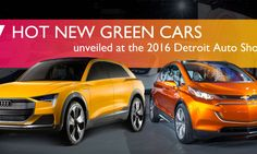 7 hot green cars just unveiled at the 2016 Detroit Auto Show | Inhabitat