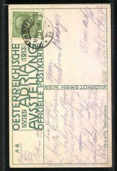 Künstler-AK H. Kalmsteiner: Wien, Österreichische Adria-Ausstellung 1913, Gemei | eBay Travel Posters, Austria, Ebay