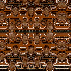 Brown_Infinity fabric by k_shaynejacobson on Spoonflower - custom fabric