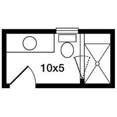 Bathroom Remodel Layout 5x9 or 5x8 bathroom plans   house ideas   pinterest   bathroom