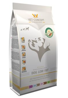 DOG LOW FAT - Trockennahrung - Vet-Concept GmbH & Co KG