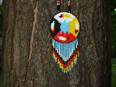 medicine wheel turtle american native by deancouchie on Etsy Indian Beadwork, Native Beadwork, Native American Beadwork, Native American Jewelry, Native American Patterns, Native American Crafts, Seed Bead Patterns, Beading Patterns, Beadwork Designs