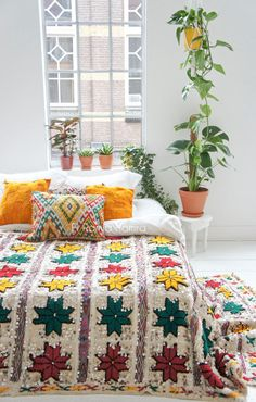 Moroccan wedding blanket 37 by ElRamlaHamra on Etsy