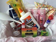 Slime kit gift diy slime slime and free printable sale diy floam slime kit solutioingenieria Images