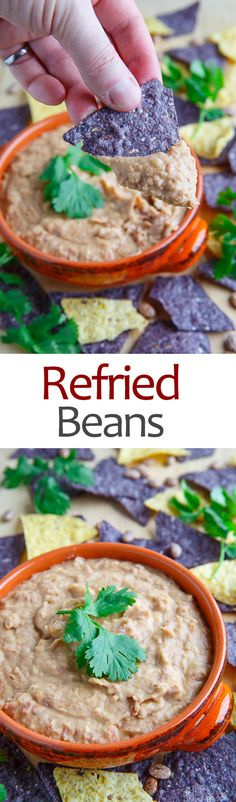 Refried Beans (Frijoles Refritos) Recipe — Dishmaps
