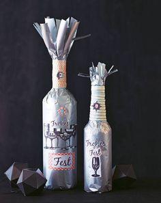 Geschenkverpackung: Flaschen verpacken - so geht's | BRIGITTE.de