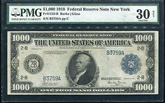 One Thousand Dollars 1918 Federal Reserve Notes for sale online Thousand Dollars, One Thousand, Military Payment Certificate, Federal Reserve Note, Money Notes, Types Of Social Media, New Fathers, Small Groups, Philadelphia