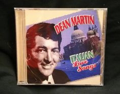 CD: Dean Martin - Italian Love Songs ⠀