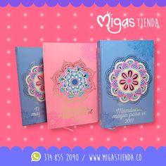 Este 2017 en #Migas te traemos Agendas Mandalas tu mejor compañía donde quiera que vas. #Migas #Agendas #Mandalas #MigasFabricadeSueños