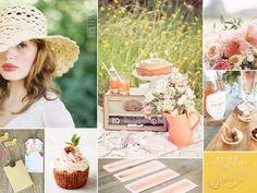 summer picnic wedding inspiration
