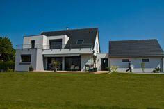 #Construction de #maison individuelle en Alsace, par Maison Arlogis Colmar.