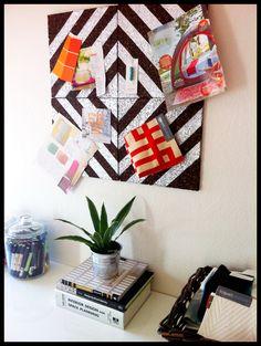DIY Pin Board for Art Room