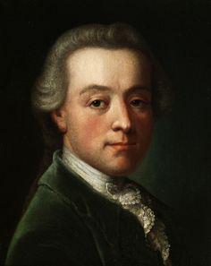 Anonymous Painter Portrait of Wolfgang Amadeus Mozart. circa 1788-1790 г.