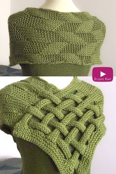 I love all the different combinations of knitted Celtic Cables and this interwoven design is a fun one. For a little luck of the Irish, knit up my Braided Celtic Knot Scarf! Wear it as an Infinity Scarf or cover your shoulders for a mock Shrug. Easy Crochet Hat, Crochet Beanie Hat, Easy Knitting, Crochet Shawl, Knitting Stitches, Knit Crochet, Crochet Hooded Scarf, Knitting Patterns Free, Scarf Knots