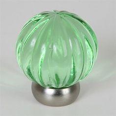 Lews Hardware 52-101 Melon Glass Knob - ATG Stores