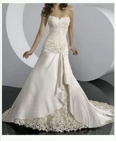beautiful weddibg dress