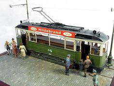 Modeller Petr Bednarik Used kits: 38003 GERMAN TRAMCAR 641 (StraBenbahn Triebwagen 641), 35095 MB TYPE 170V Personenwagen, 38007 TRAM CREW with PASSENGERS #tramcar #tram #miniart