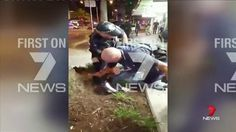 Man left bleeding from mouth after punched in head by police officer during violent arrest