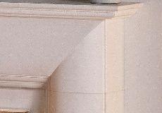 Burwell 44 Fireplace Suite Agean Limestone