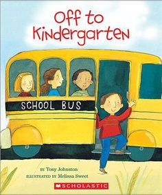 Books about getting ready for kindergarten.