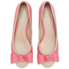 CARVELA Little Satin Flat - pretty in pink, these sweet ballet flats can complete many spring outfits in a snap