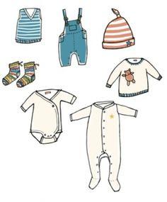 Decorar pastel de baby shower con ropita de bebe en papel | Manualidades para Baby Shower