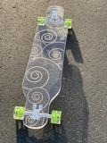 Swirl Ghost Board – Ghost Long Board Coral, Turquoise, Orange, Yellow, Big Boys, Voss Bottle, Purple, Blue, Skate