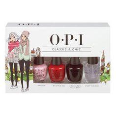 OPI-Fall Iconic Mini-Pack - Kit de vernis à ongles