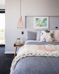 On the countdown to the New Year, we always love to share with you ... our favourite projects for the past year. Highlights of our work and our best memories. We would love to know if there was particular project you loved?  This is Mandie's favourite project for the year, it's a new build we worked on in Broadbeach. This bedroom got a lot of love from you, our followers and we loved it just as much.