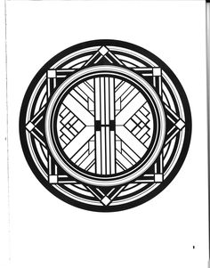 """Art Deco Design.  This image belongs to the Dover Pictorial Archival Series """"Art Deco Designs and Motifs"""" by Marcia Loeb.  You may use the designs and illustrations for graphics and crafts applications without special permission provided that you use no more than 10 in the same publication or project."""