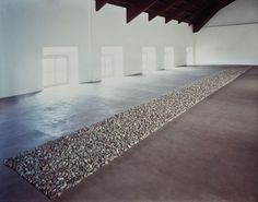 Richard Long - Line of Lake Stones, Antonio Tucci Russo, Turin, Richard Long, Robert Smithson, Christo And Jeanne Claude, English Artists, Nature Center, Turin, Installation Art, Artist At Work, Art Photography