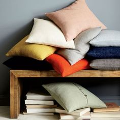 Silk Hand-Loomed Pillow Covers | west elm