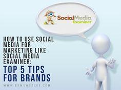 How to Use Social Media for Marketing Like Social Media Examiner: Top 5 Tips for Brands