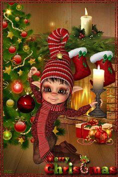 Merry Christmas & Happy New Year ! Merry Christmas Gif, Holiday Gif, Christmas Scenes, Christmas Wishes, Christmas Pictures, Christmas Art, Christmas Greetings, Beautiful Christmas, All Things Christmas